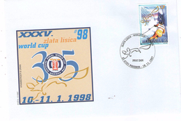 Slovenia 1998 - Worldchampionchip, FDC - Jet Ski