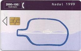 Spain - Telefonica - Nadal - P416 - 12.1999, 6.500ex, Used - Spain