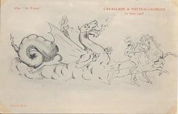 Cavalcade De NUITS SAINT GEORGES - 11 JUIN 1905 - Char Du Trésor - Nuits Saint Georges