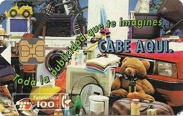 Spain - Telefonica - Publicidad Cabitel - P020 - 07.1993, 31.000ex, Used - España