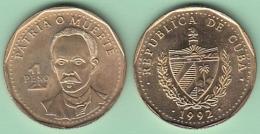 1992-MN-110 CUBA 1992 1$. JOSE MARTI UNC. - Cuba