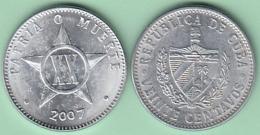 2007-MN-111 CUBA 2007 20c ALUMINIUM. UNC. - Cuba