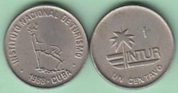 1988-MN-110 CUBA 1988 INTUR 1c Cuc CUPRO-NI. - Cuba