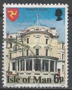 Isle Of Man 1978. Scott #115 (U) Government Buildings * - Man (Ile De)