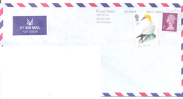 2001. Great Britain, The Letter Sent By Air-mail Post To Moldova - 1952-.... (Elizabeth II)