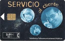 Spain - Telefonica - Servicio Al Cliente - P479 - 3.01€, 07.2001, 37.200ex, Used - España
