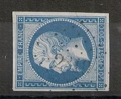 PC 2319 OLIVET Loiret. Déchiffrable. - 1853-1860 Napoleon III