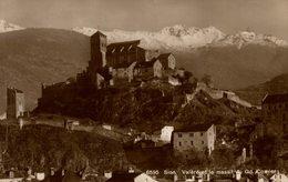 RPPC  SION - Valère Et Le Massif Du Gd Cornier   SCHWEIZ SWITZERLAND SVIZZERA Suisse SUIZA - VS Wallis