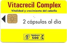 Spain - Telefonica - Vitacrecil Complex - P188 - 03.1996, 19.000ex, Used - España
