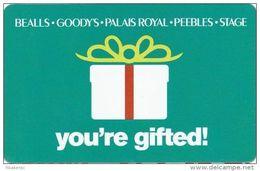Bealls - Goody's - Palais Royal - Peebles - Stage Gift Card