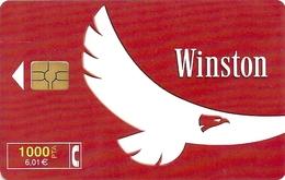 Spain - Telefonica - Winston Tobacco - CP-184 - 04.2000, 12.611ex, Used - Spain