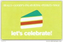 Bealls - Goody´s - Palais Royal - Peebles - Stage Gift Card - Gift Cards