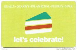 Bealls - Goody´s - Palais Royal - Peebles - Stage Gift Card
