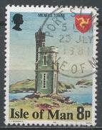 Isle Of Man 1978. Scott #117 (U) Milner's Tower - Man (Ile De)