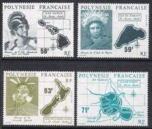 POLYNESIE N°354 A 357 N** - Polynésie Française