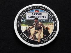 Ecusson Equipe Cynophile GASSIN SAINT TROPEZ - Police & Gendarmerie