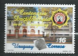 Uruguay 2005 The 100th Anniversary Of Dactyloscopy In Uruguay.medical.fingerprint.police.MNH - Uruguay
