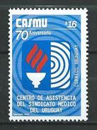"Uruguay 2005 The 70th Ann. Of Health Insurance ""Sindicato Medico Del Uruguay"" - With Inscription ""CORREOS URUGUAY.MNH - Uruguay"