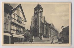 LISIEUX - Eglise Saint Jacques - Commerce A La Petite Marquise - Animée - Lisieux