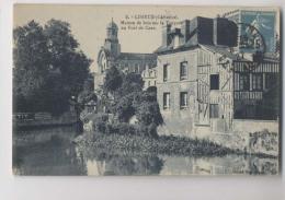 LISIEUX - Maison De Bois Sur La Touques Au Pont De Caen - Lisieux