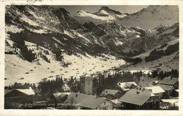 1924  ADELBODEN MIT WILDSTRUBEL  SCHWEIZ SWITZERLAND SVIZZERA Suisse SUIZA - BE Bern