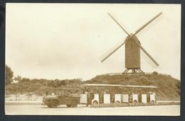+++ CPA - Photo Carte - Foto Kaart - COXYDE - KOKSIJDE - Moulin Et Train Miniature - Molen En Miniatuur Treintje  // - Koksijde
