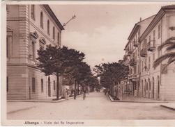 Albenga Savona Viale Del Re Imperatore - Italy