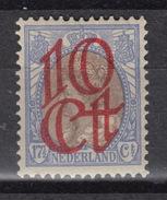 NEDERLAND 116 * - Opdruk – Overprint - Surchargé (1923) – - 1891-1948 (Wilhelmine)