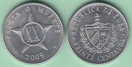 2009-MN-106 CUBA 2009 20c ALUMINIUM. UNC. - Cuba