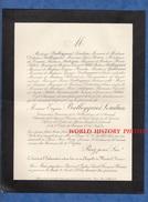 Document De 1898 - LE MONTEIL ( Vienne ) - Eugène BALLEYGUIER LOUDUN Conservateur Honor. De La Bibliothèque De L'Arsenal - Documents Historiques
