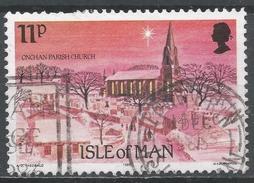 Isle Of Man 1985. Scott #294 (U) Christmas, Onchan Parish Church * - Man (Ile De)