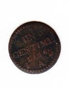 FRANCE KM 646, 1ct, AN 6 .   (DP103) - 1789-1795 Monnaies Constitutionnelles