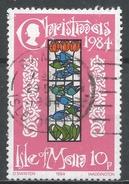 Isle Of Man 1984. Scott #274 (U) Christmas: Stained-glass WindowsBirds, Glencrutchery House * - Man (Ile De)