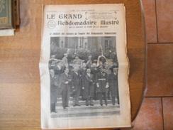 LE GRAND HEBDOMADAIRE ILLUSTRE DIMANCHE 17 NOVEMBRE 1935 CONGRES DES GROUPEMENTS COMMERCIAUX A LILLE LE 17e ANNIVERSAIRE - Zeitungen