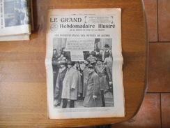 LE GRAND HEBDOMADAIRE ILLUSTRE DIMANCHE 16 DECEMBRE 1935 MANIFESTATIONS DES MUTILES DE GUERRE,OMER BOUCHERY GRAVEUR LILL - Informations Générales