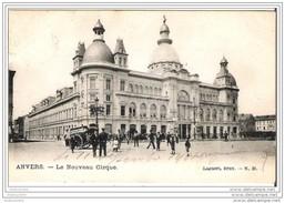 ANVERS-ANTWERPEN - Le Nouveau Cirque - Oblitération De 1904 - Antwerpen