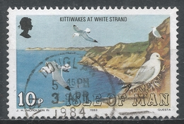 Isle Of Man 1983. Scott #228 (U) Marine Bird: Kittiwakes, White Strand * - Man (Ile De)