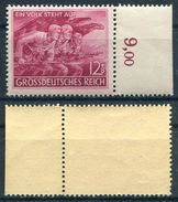 D. Reich Michel-Nr. 908 Mit Rand Ungebraucht - Duitsland