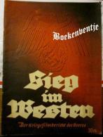 Sieg Im Westen - Der Kriegsfilm Bericht Des Heeres - Livres, BD, Revues