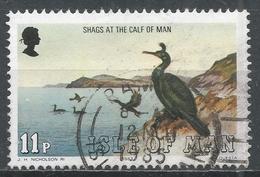 Isle Of Man 1983. Scott #229 (U) Marine Bird: Shags, Calf Of Man * - Man (Ile De)