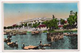 Viet-Nam--Sud Vietnam--SAIGON--La Banque De L'Indochine (animée Au 1er Plan)cpsm 14 X 9 N°259 éd P.C Paris - Viêt-Nam