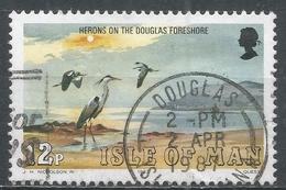 Isle Of Man 1983. Scott #230 (U) Marine Bird: Herons, Douglas Foreshore * - Man (Ile De)
