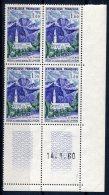 1992  -  FRANCE  N°1241**  1Fr  Eglise De Cilaos    Du  14.1.60      SUPERBE - Dated Corners