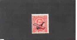 Islande YT PA 1  XX / MNH - Airmail