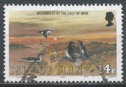 Isle Of Man 1983. Scott #232 (U) Marine Bird: Razorbills, Calf Of Man * - Man (Ile De)