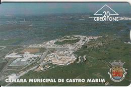 PORTUGAL(L&G) - Camara Municipal De Castro Marim/Vista(20 Units), CN : 606L, Tirage 5000, 06/96, Used - Portugal