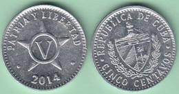 2014-MN-10 CUBA 2014 5c ALUMINIUM. UNC. - Cuba