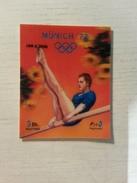 UMM AL QIWAIN - Timbre MUNICH 72 - Gymnastique