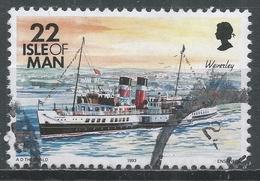 Isle Of Man 1993. Scott #545 (U) Ship, Waverley * - Man (Ile De)