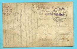 Foto-kaart Met Stempel SOLTAU Naar BEYNE-HEUSAY